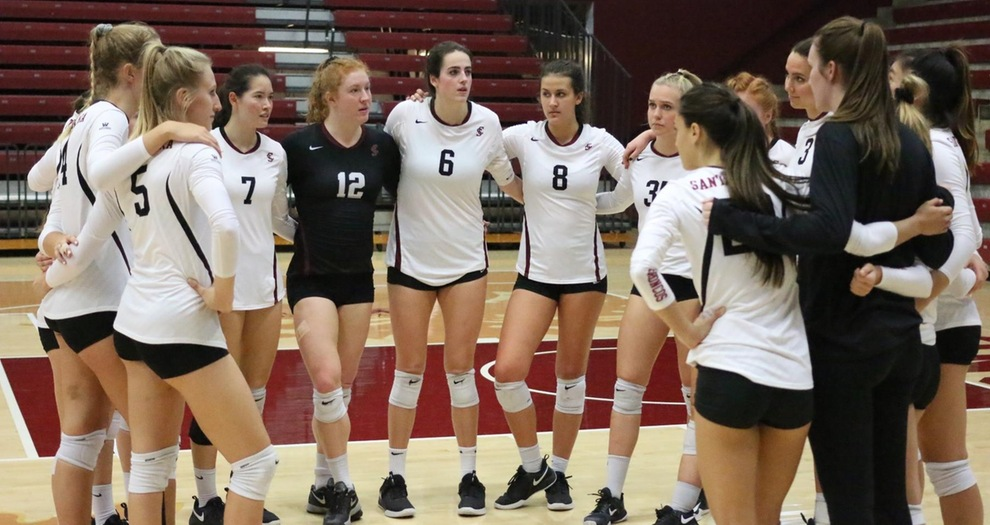 Volleyball Comes Up Short in Five Sets Against Gonzaga
