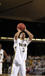 Harris, Powell Lead Second Half Surge as Gauchos Defeat Montana State, 76-61