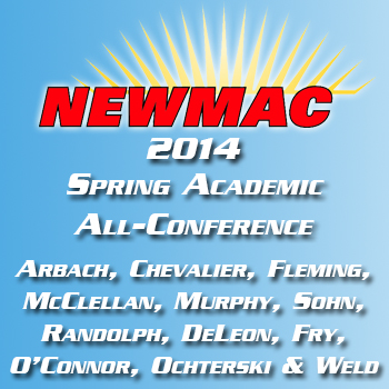 NEWMAC Announces 2014 Spring Academic All-Conference Squads