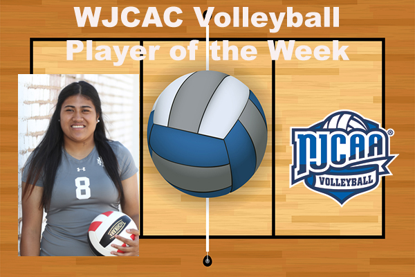 WJCAC Volleyball Player of the Week (Oct. 30)