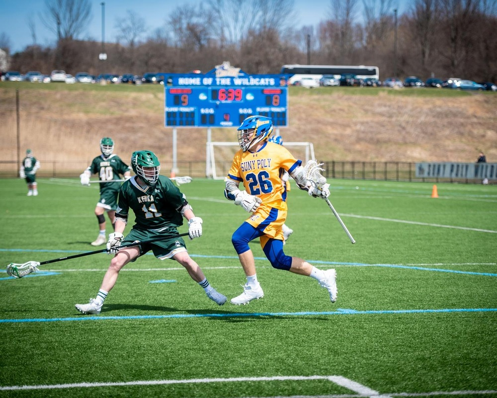 MLAX: SUNY Poly Advances to First NEAC Championship in Program History.