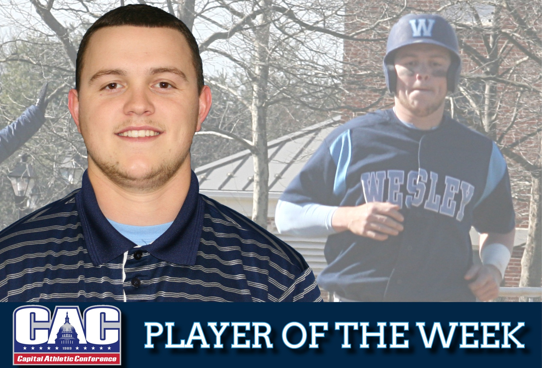 Mears earns second CAC Player of the Week honors