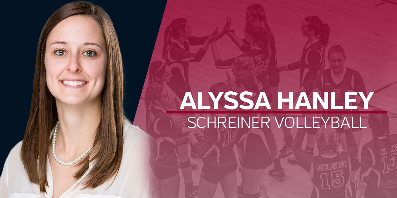 Alyssa Hanley Named Schreiner Head Volleyball Coach