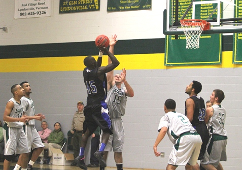 Gray's trey propels Lyndon over Colby-Sawyer