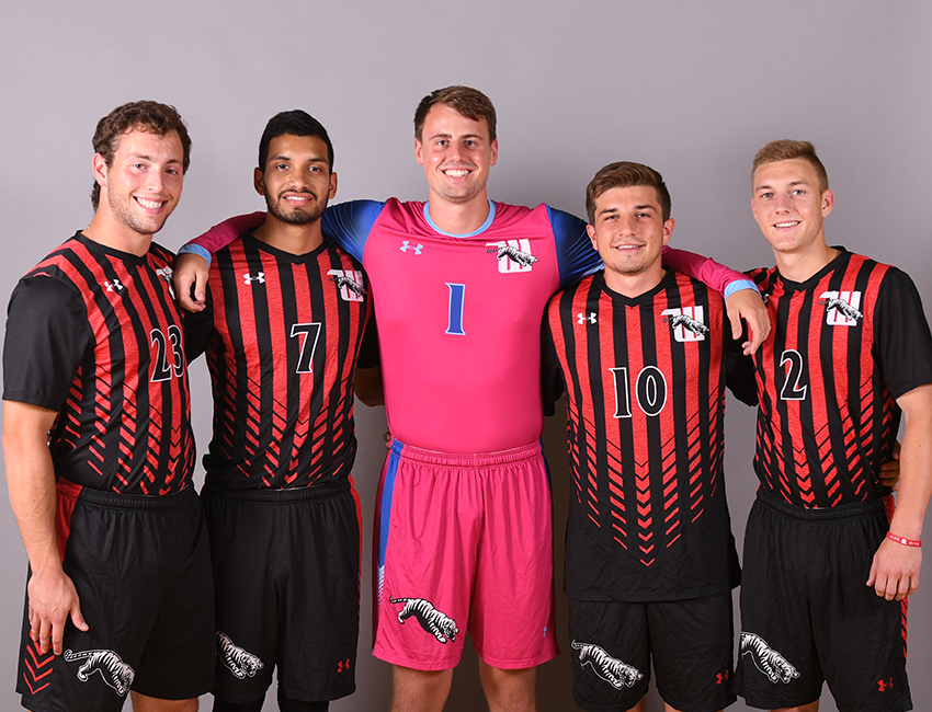 Wittenberg celebrated men's soccer Senior Day with a convincing 5-1 win over Hiram