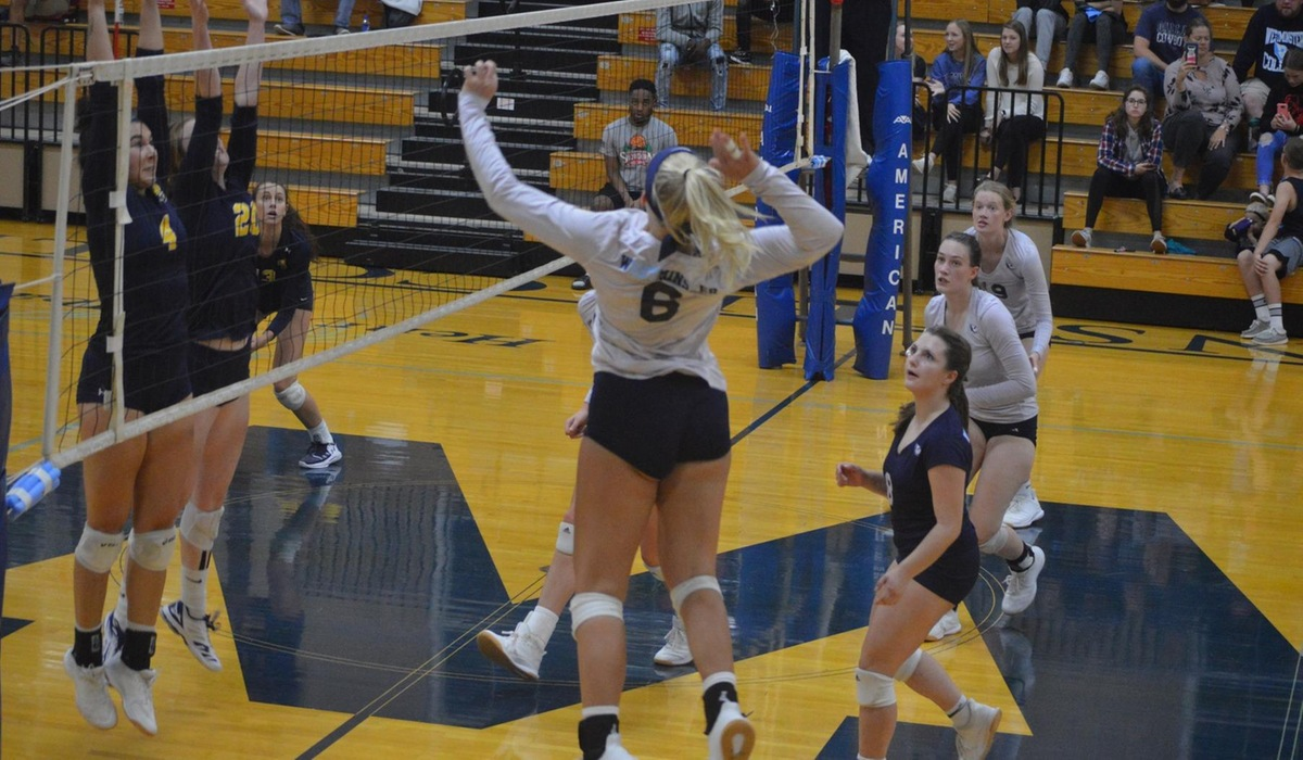 Westminster Volleyball Battles Past Blackburn