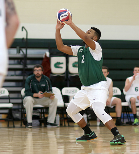 Sage drops tough match to Bard in men's volleyball action