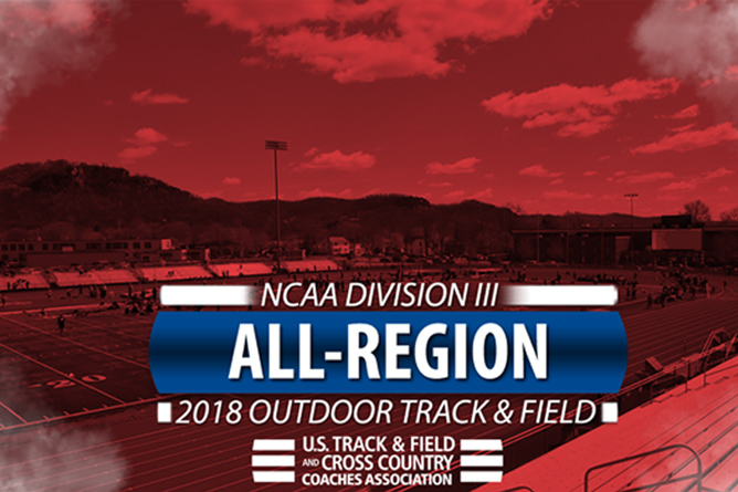 Three Track & Field Athletes Named USTFCCCA All-Region