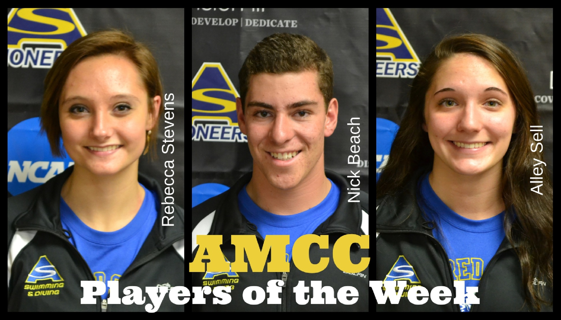 Trio of Pioneers Earn AMCC Honors