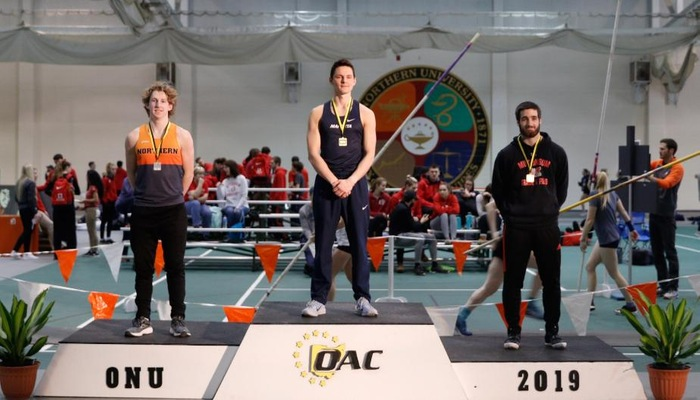 Fox earns All-OAC honors in pole vault