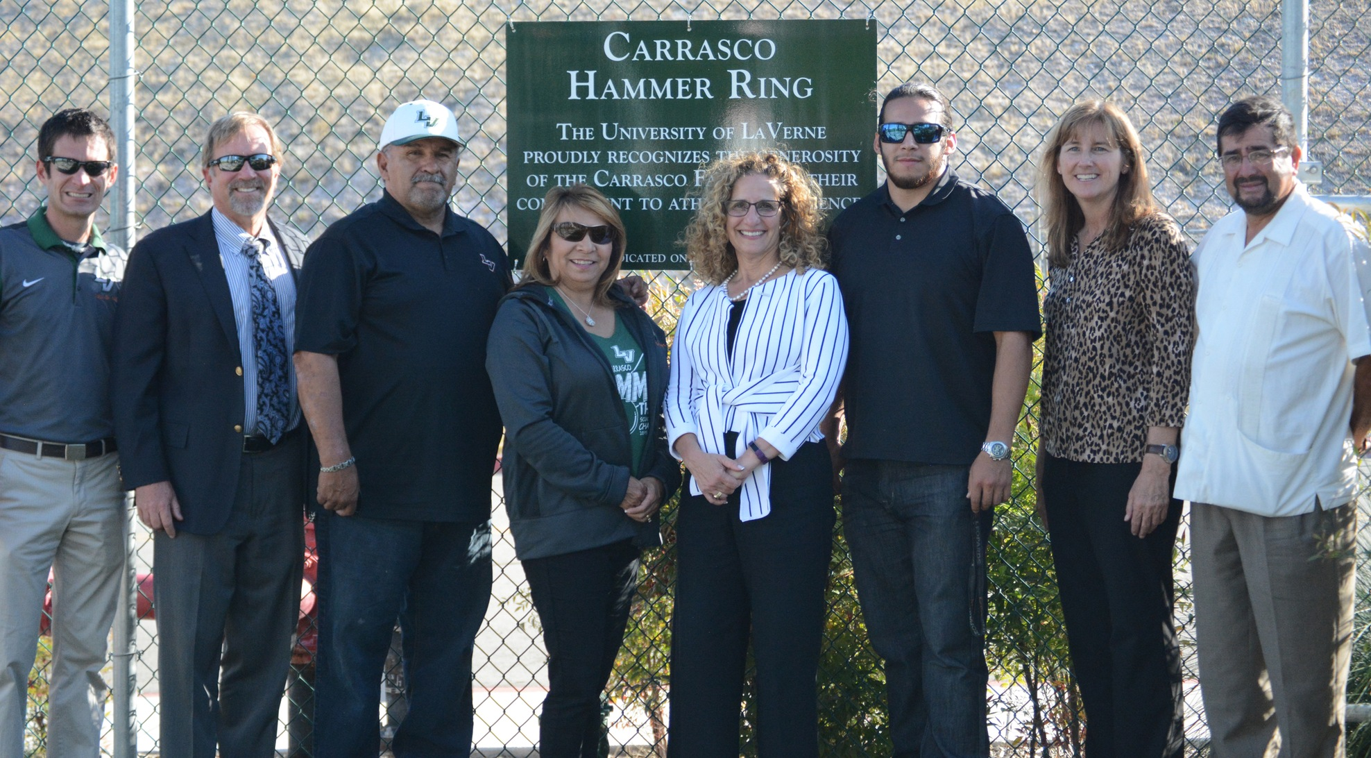 La Verne dedicates Carrasco Hammer Ring