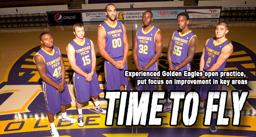 Golden Eagles open practice, launch OVC title quest