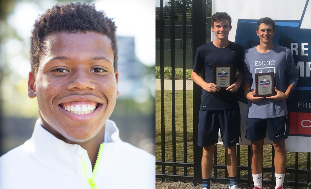 Emory Tennis Trio Tabbed For UAA Honors