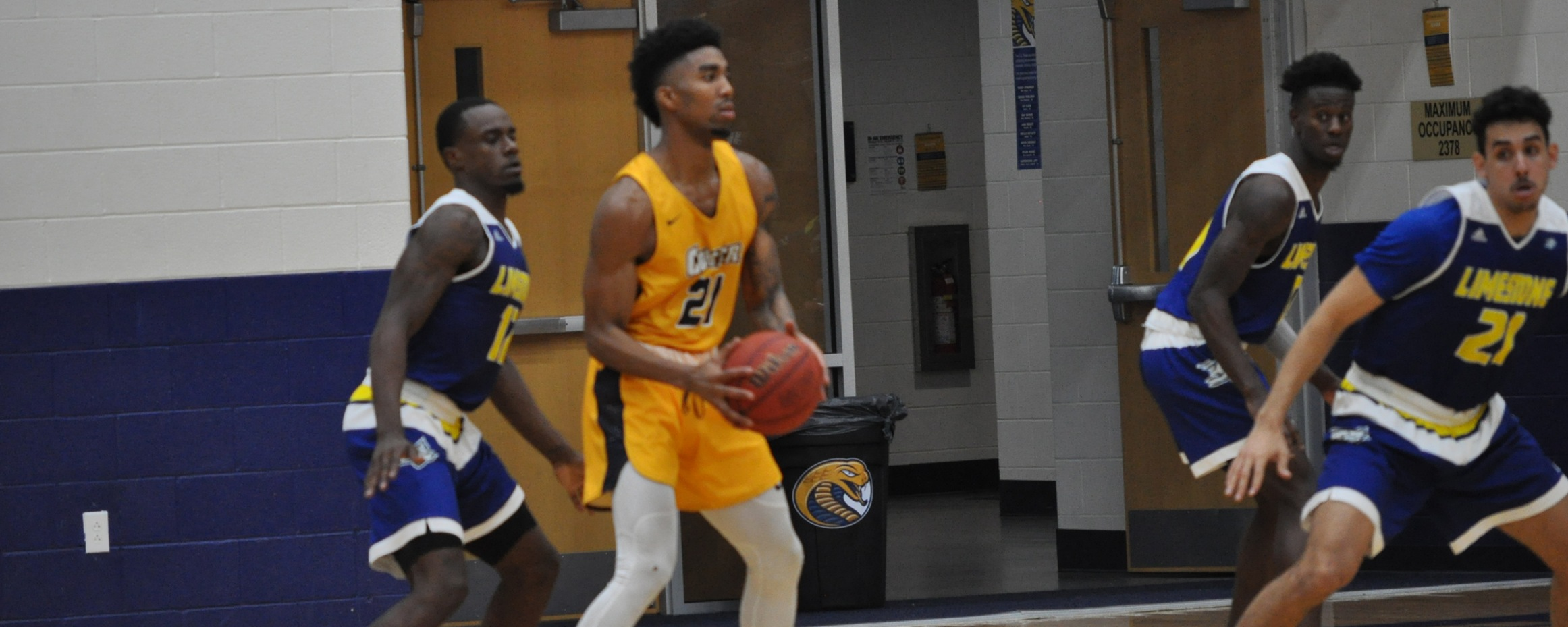 Men's Basketball Falls to No. 9 Lincoln Memorial on Saturday