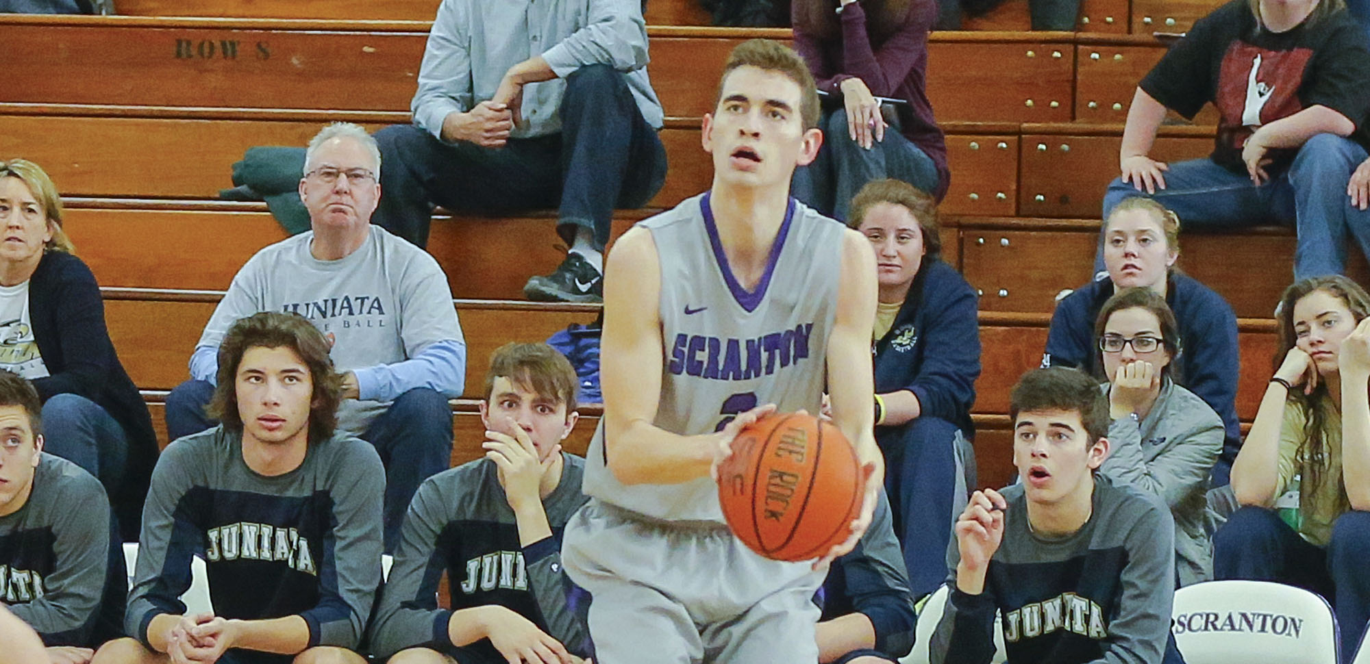 Junior guard Ethan Danzig hit six 3-pointers in Saturday's win over Catholic in the Long Center.