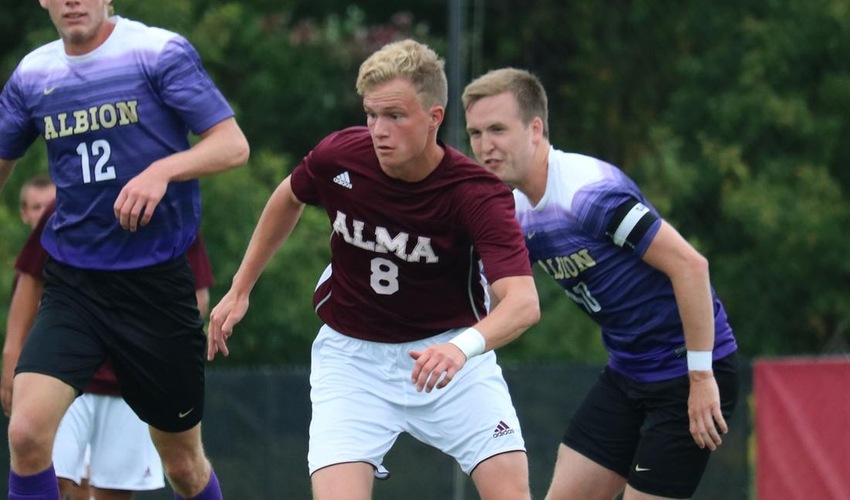 Men's Soccer Forces 1-1 Draw at Adrian