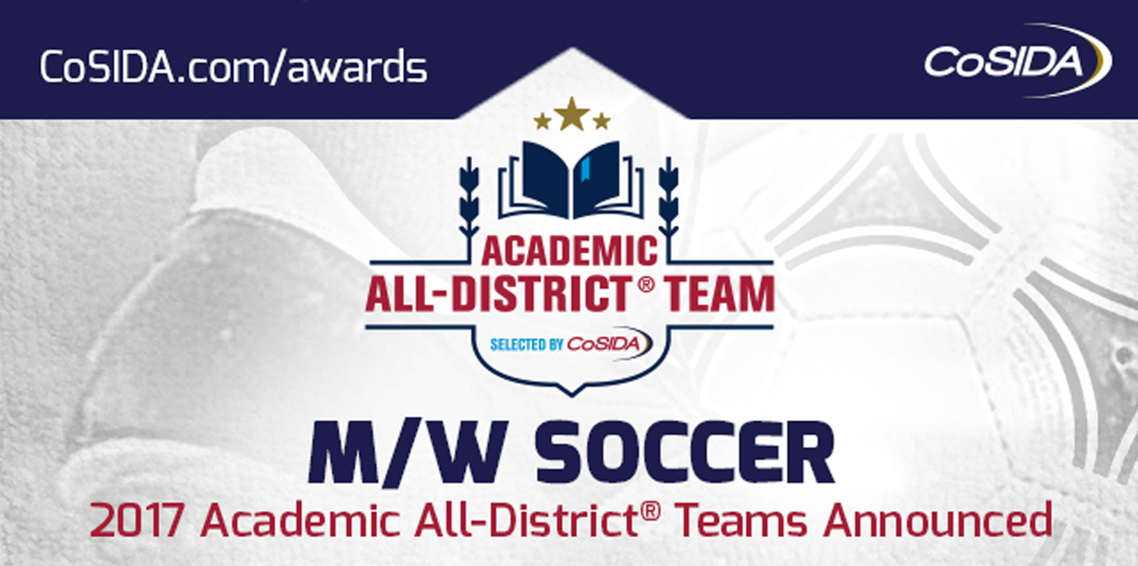 Three Women's Soccer Student-Athletes Earn CoSIDA Academic All-District Recognition