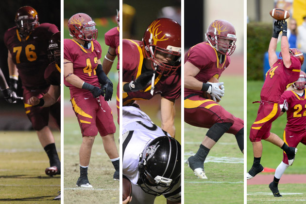 Five Stags named to All-SCIAC football team
