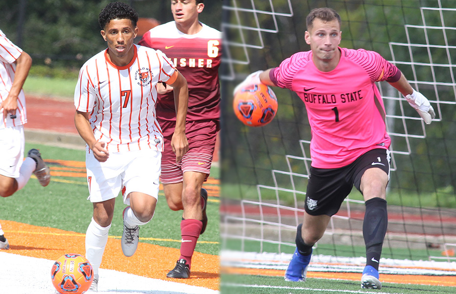 Buffalo State sweeps PrestoSports Men's Soccer Athletes of the Week Awards