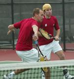 Men's Tennis Falls to No. 61 Arizona, 6-1
