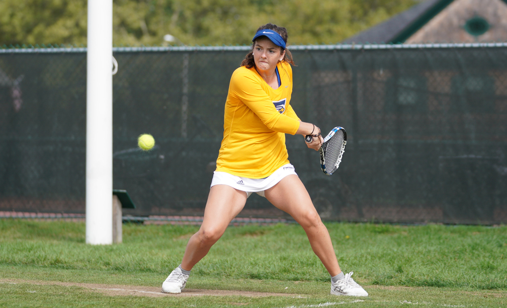 Women's Tennis Dominates Centre for Third Straight Win