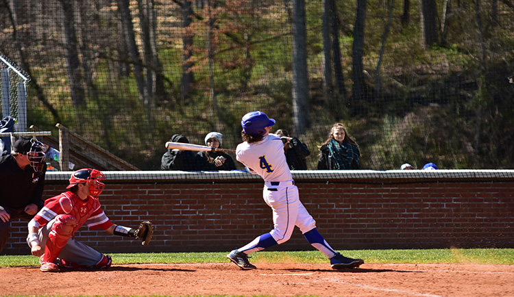 Lions fall to Catawba in road doubleheader