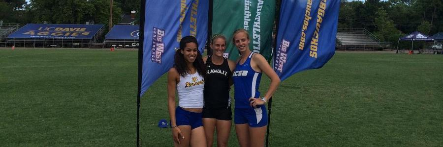 Usgaard races to Bronze in Big West Heptathlon Championship