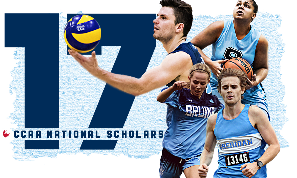 17 student athletes named CCAA National Scholars