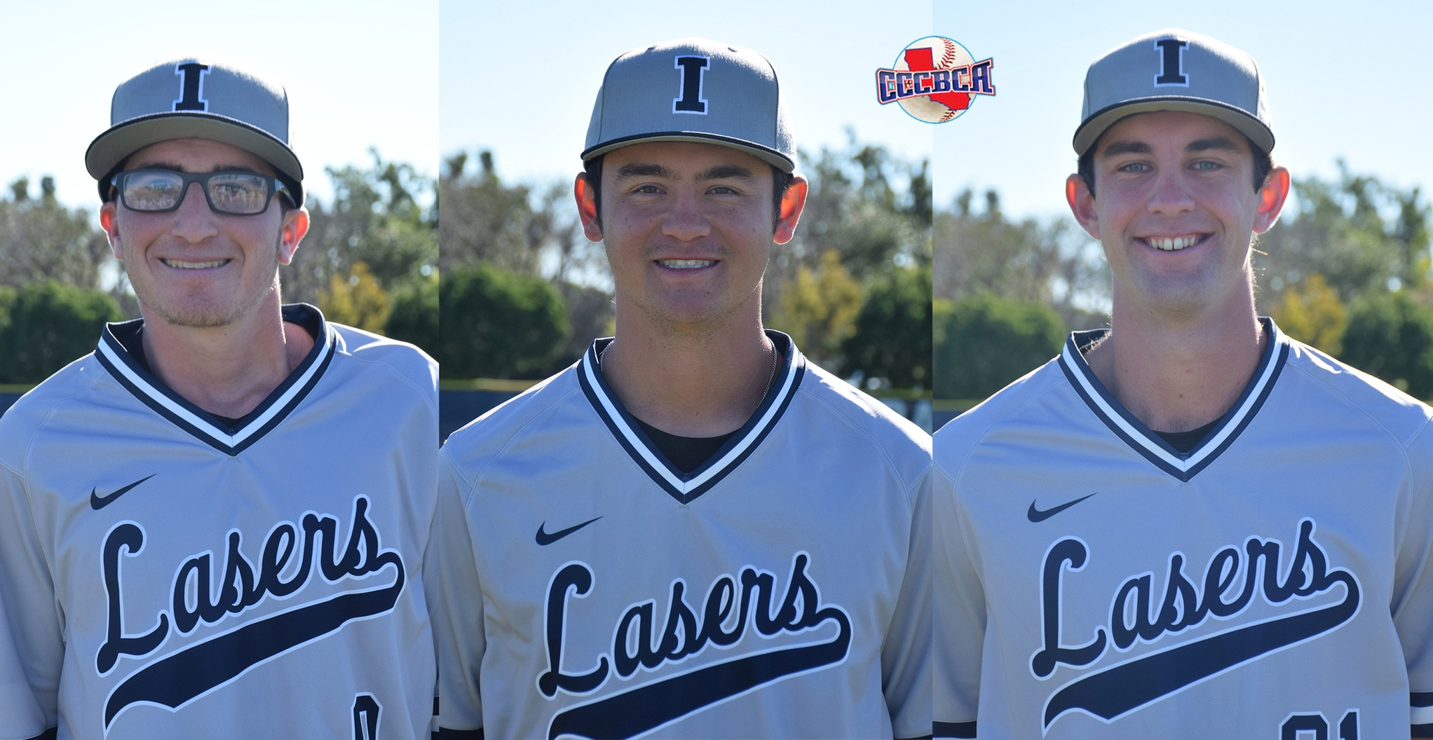 Three baseball players named CCCBCA Academic All-state