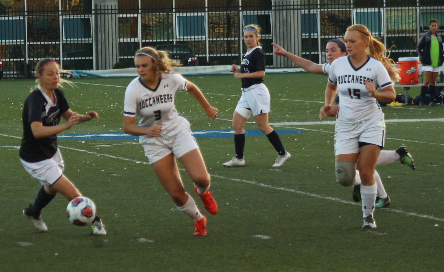 Taylor's Two Tallies Help Women's Soccer Top Trailblazers On Record-Setting Evening