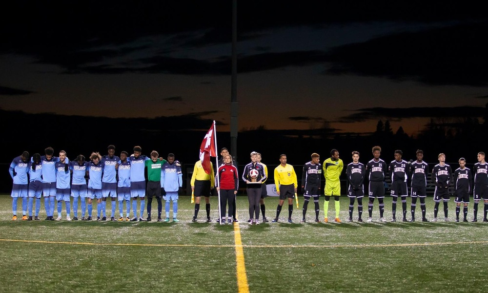 Men's soccer falls to Ahuntsic on PKs in semi final heartbreaker