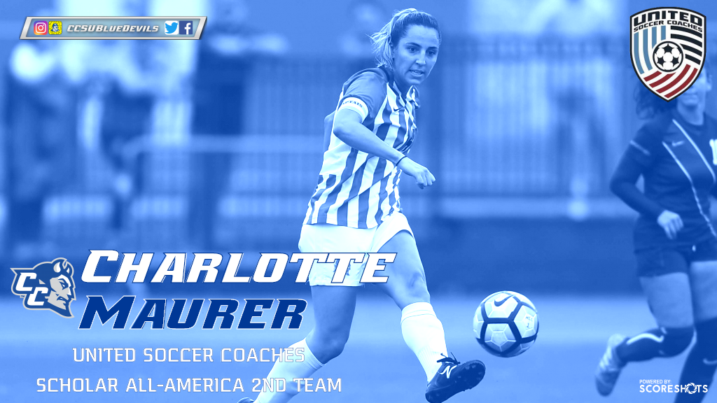 Maurer Named United Soccer Coaches Women's Soccer Scholar All-America