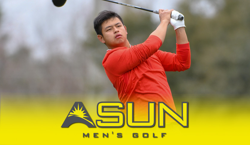 Men's @ASUN_Golf Weekly Accolade Earned by Liberty's Chang