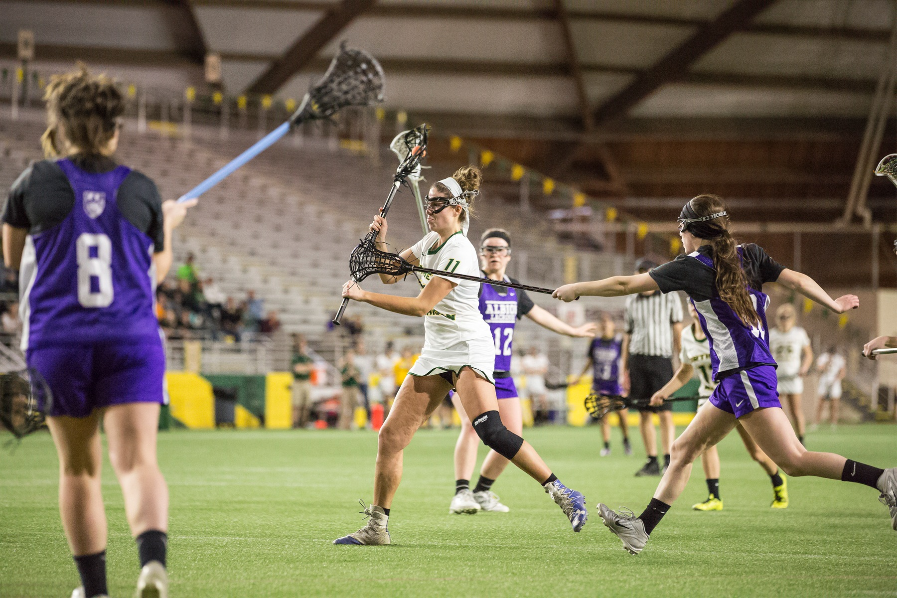Lacrosse Takes On Albion In Saturday Exhibition