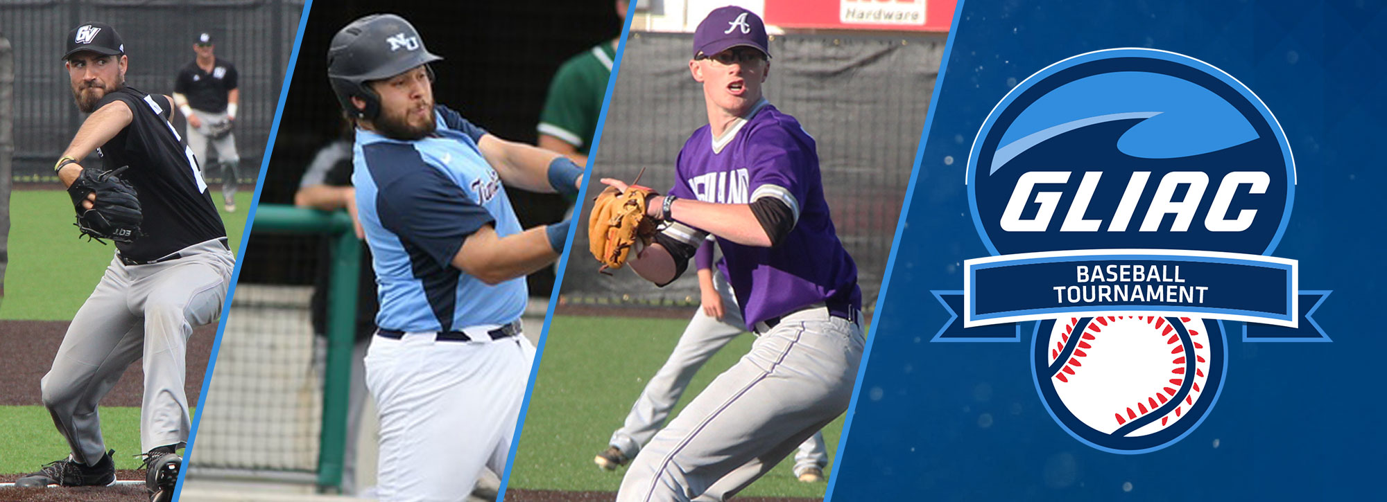 Northwood, Ashland & GVSU Victorious in GLIAC Baseball Tournament First Round