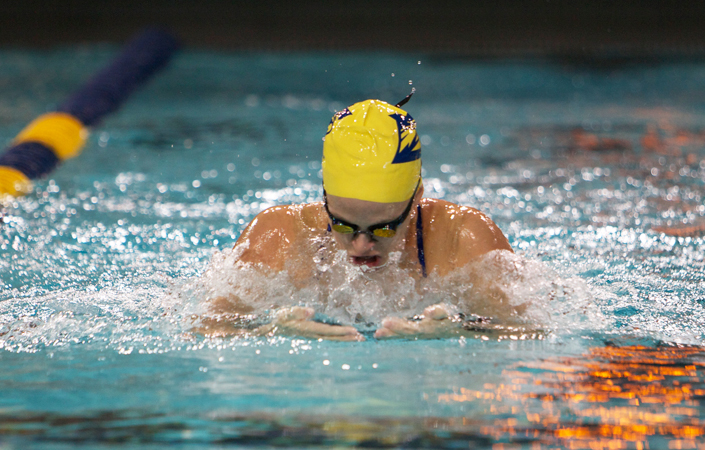 Women's Swimming & Diving Claims Five Event Titles to Open UAA Championships