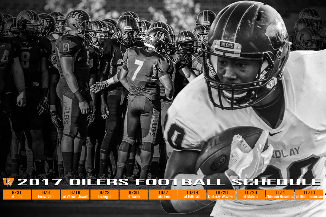 Oilers Announce 2017 Football Schedule