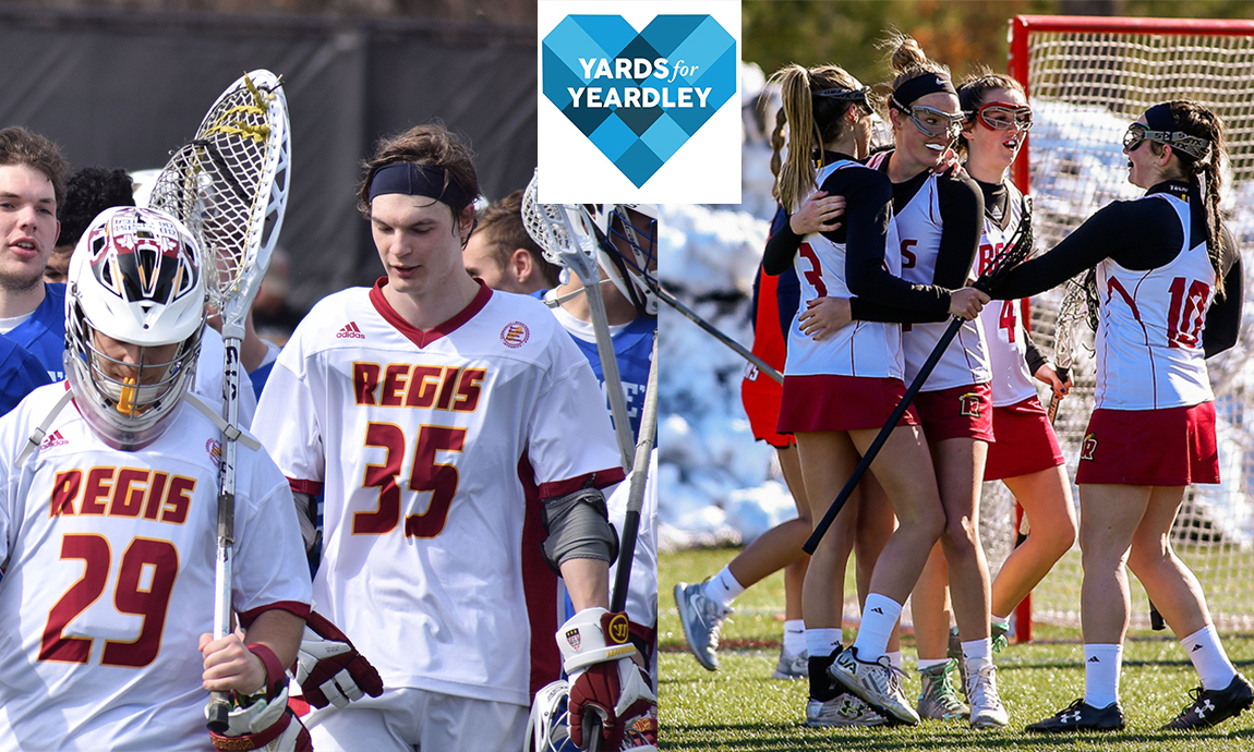 Regis Athletics Invites Campus Community to Join Yards for Yeardley Initiative