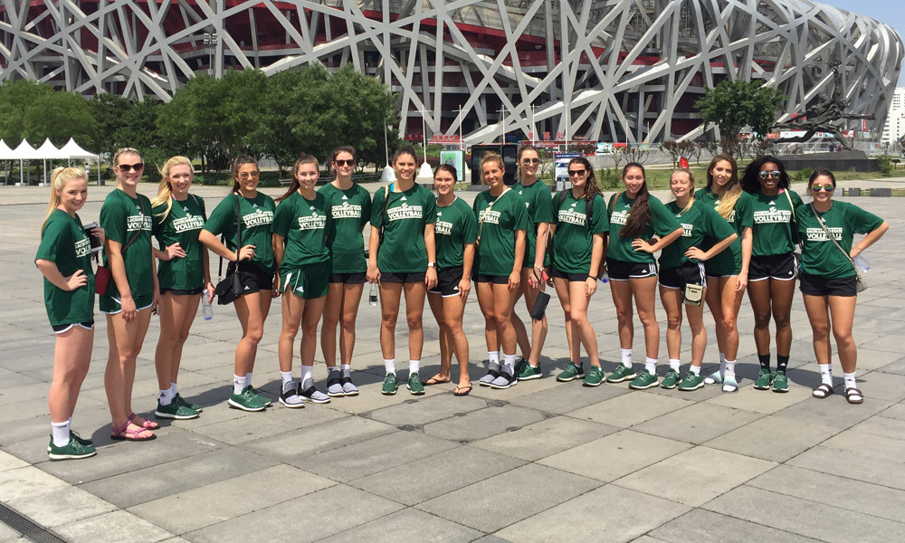 VOLLEYBALL'S FINAL FULL DAY IN CHINA; DAY 10 PLAYER BLOG