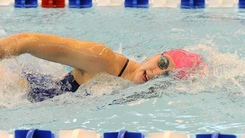 Swim & Dive Compete at Rutgers Friday