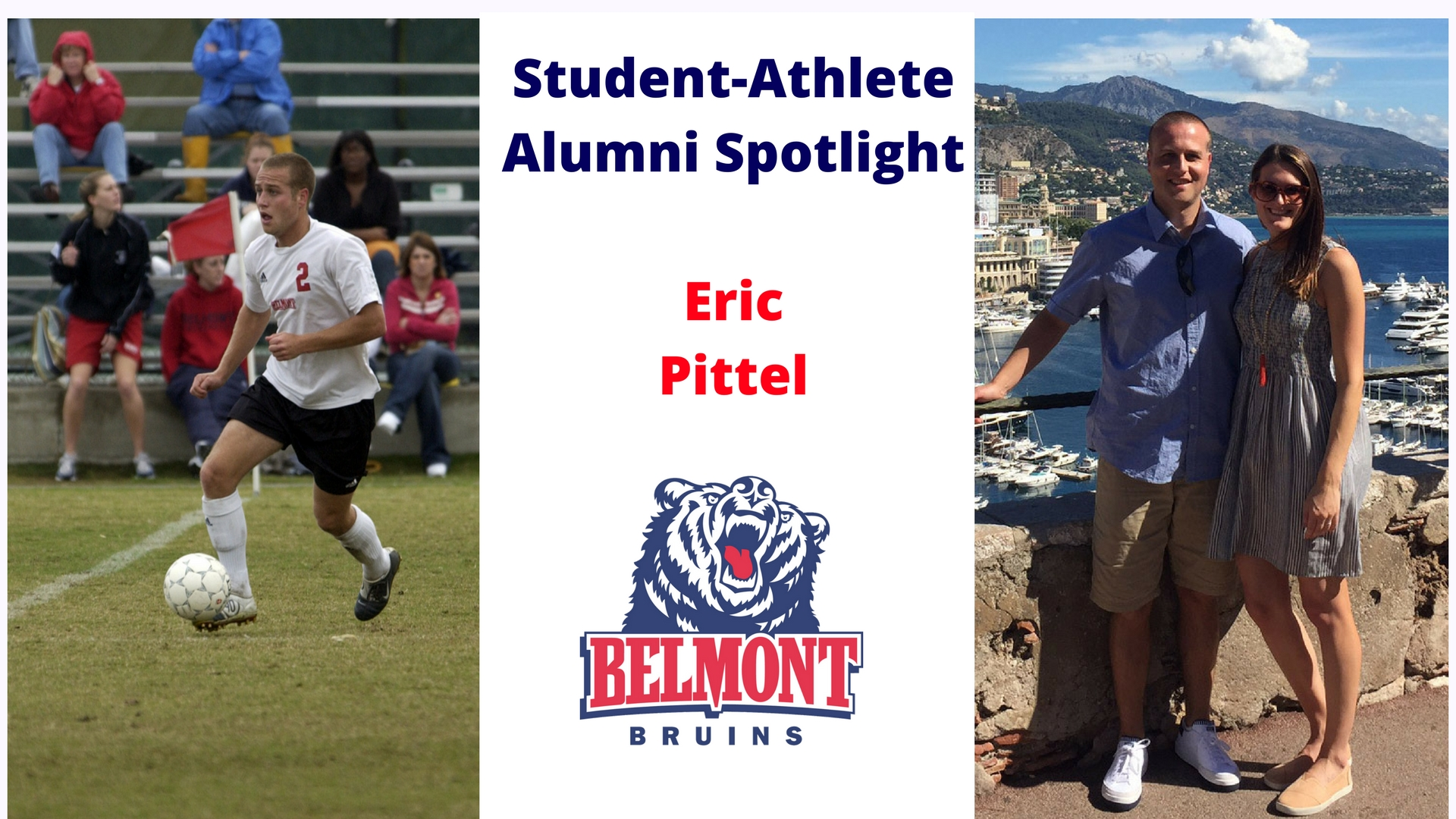 Student-Athlete Alumni Spotlight -- Eric Pittel