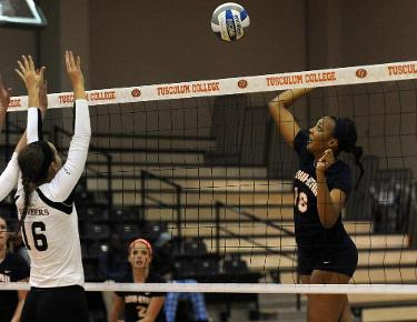 Eagles shoot through Trojans in four-set victory