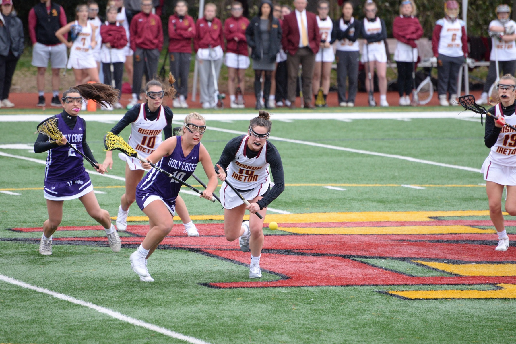 Both Bishop Ireton and Holy Cross advanced with Quarterfinal wins on Tuesday.