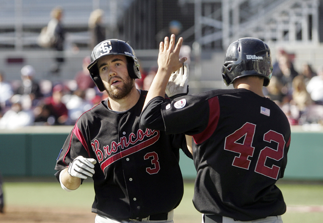 Bronco Baseball Wraps-Up 2012 vs. Stanford, LMU for Senior Weekend