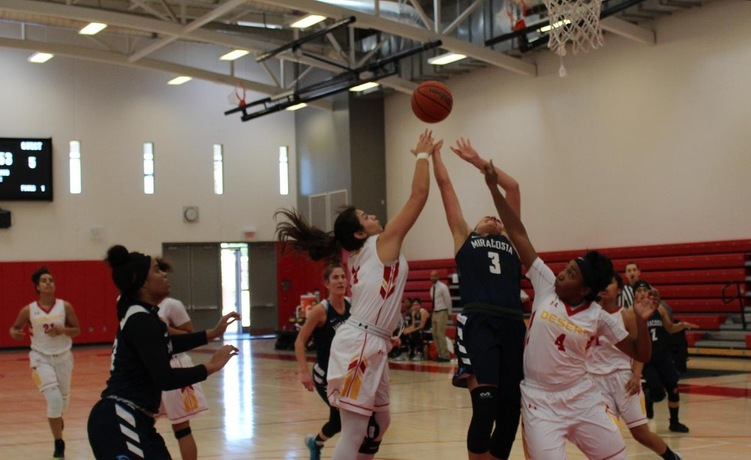 COD Women's Basketball upset special falls short against Spartans, 76-73