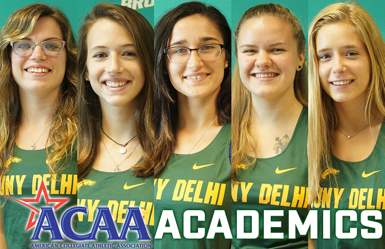 Five Women's Harriers Earn ACAA Academic Recognition