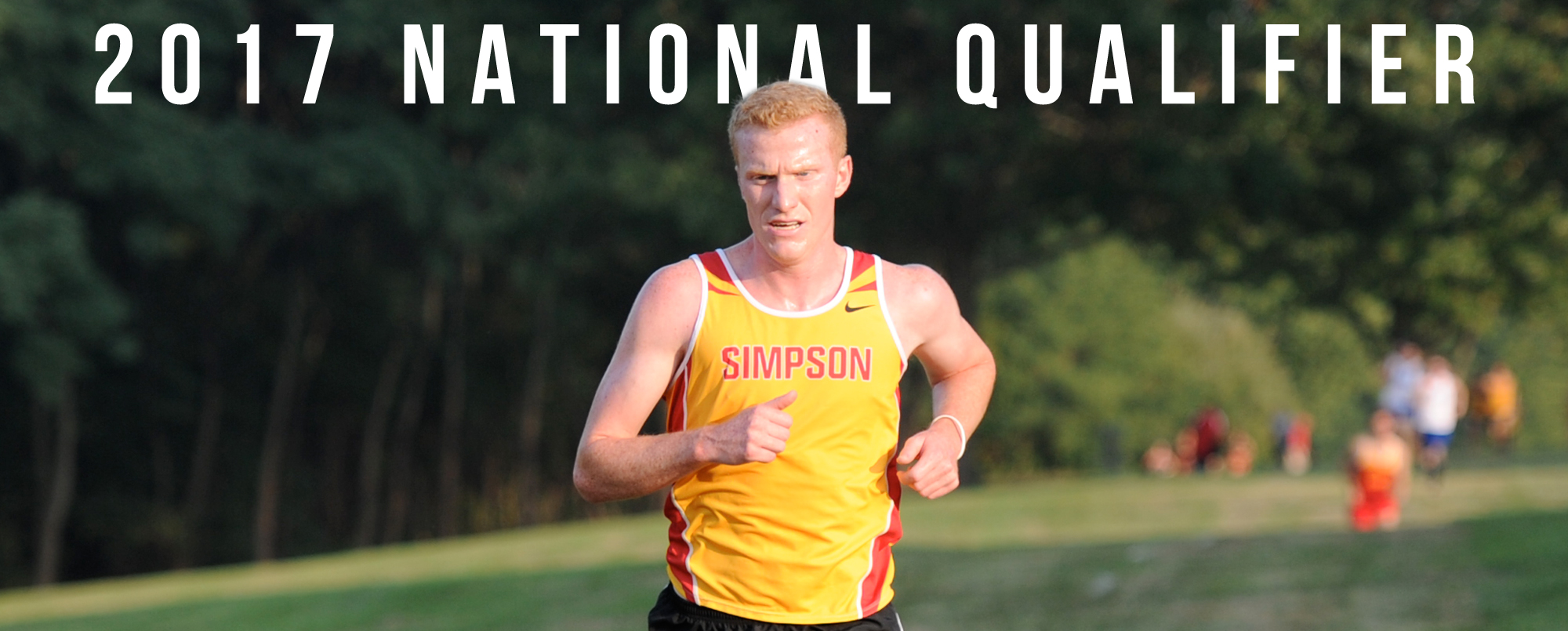 Ian McKenzie is Simpson's 13th cross country national qualifier in school history.
