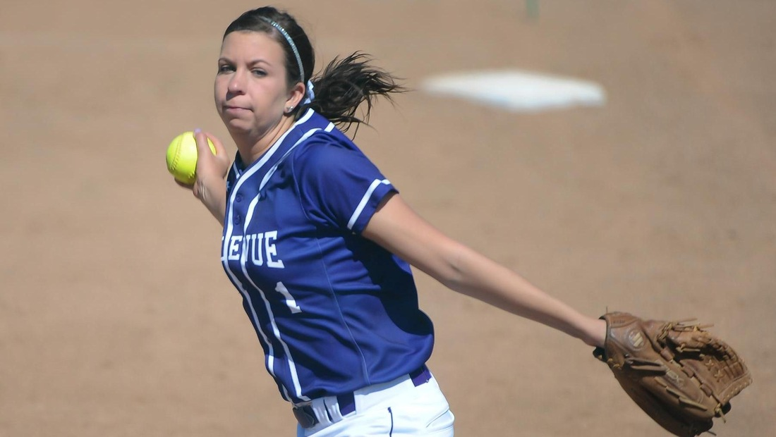 Kelli Fisher tossed a complete game one-hit shutout in the nightcap.