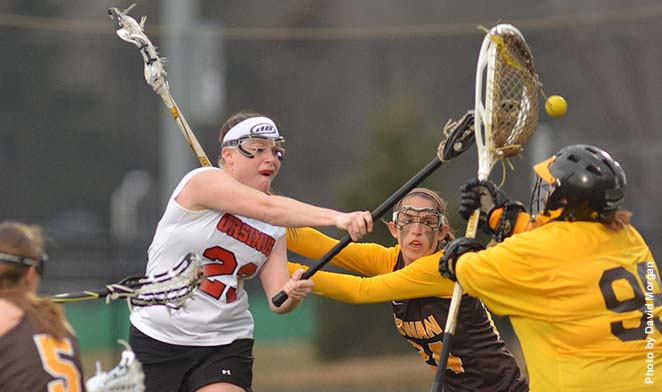 Women's Lacrosse holds off Rowan, 10-8