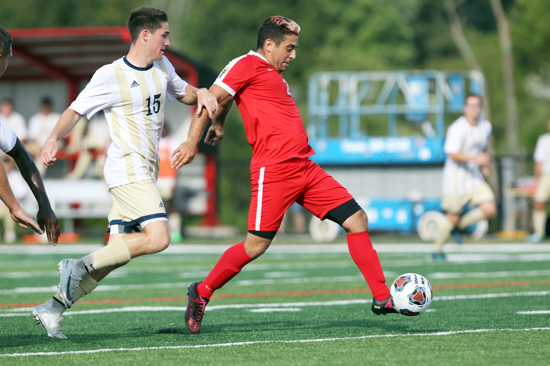 Men's Soccer jolted by John Carroll